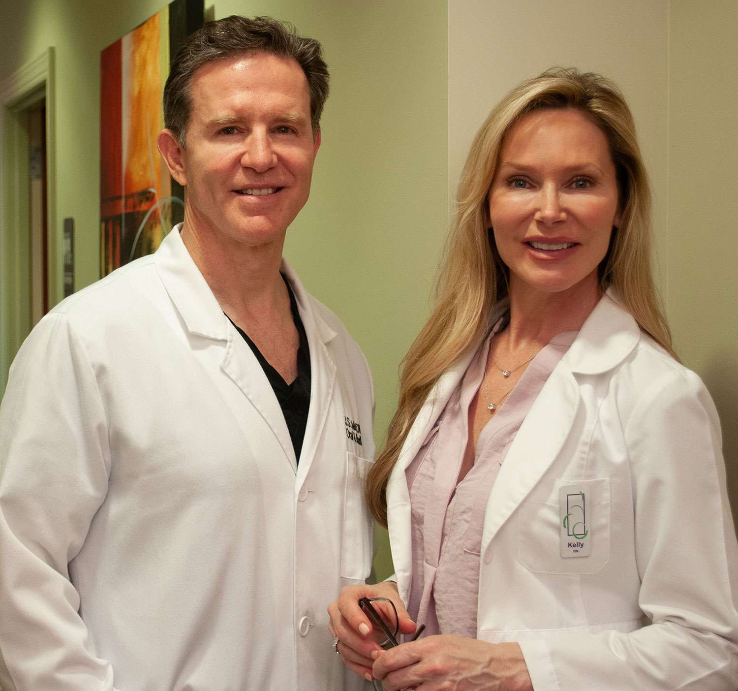 Dr. Jelic and Kelly Jelic